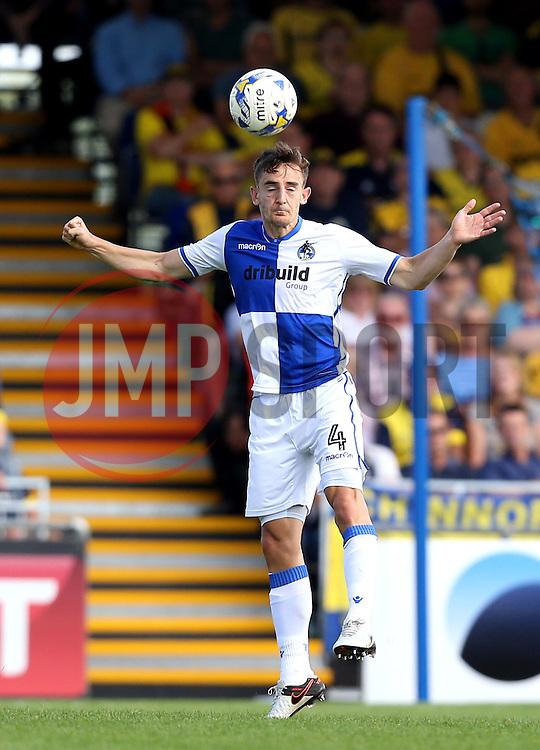 Tom Lockyer of Bristol Rovers heads the ball - Mandatory by-line: Robbie Stephenson/JMP - 14/08/2016 - FOOTBALL - Memorial Stadium - Bristol, England - Bristol Rovers v Oxford United - Sky Bet League One