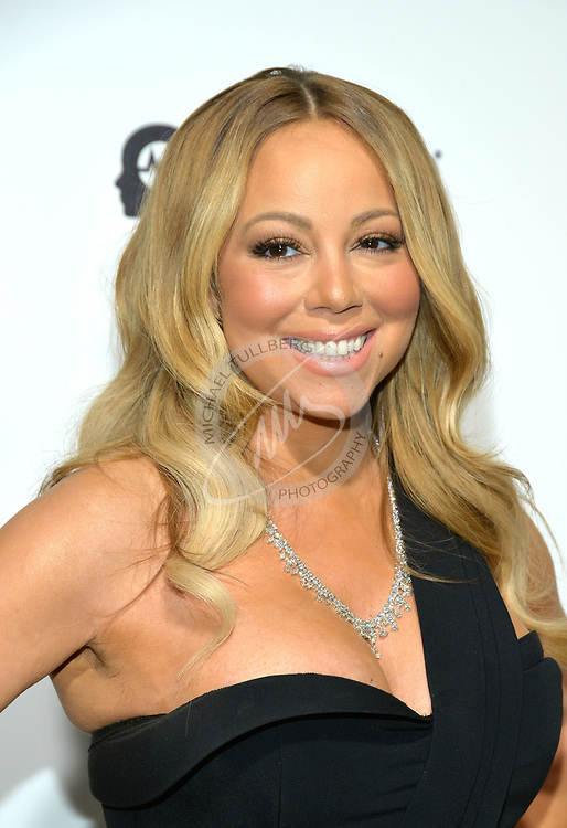 Mariah Carey in West Hollywood, California.