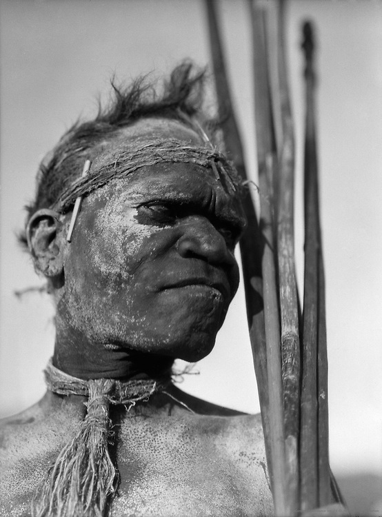 Aboriginal Tribesman, Palm Island, Queensland, Australia, 1930
