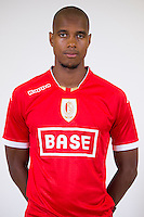 Standard's Ricardo Faty pictured during the 2015-2016 season photo shoot of Belgian first league soccer team Standard de Liege, Monday 13 July 2015 in Liege.