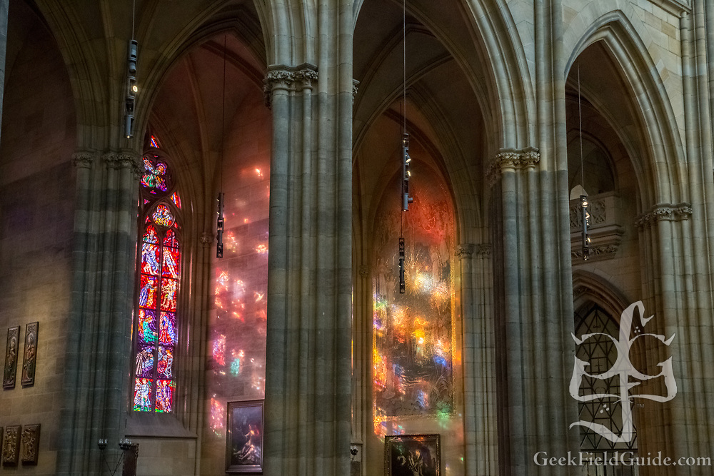 From St. Vitus Cathedral in the heart of Prague Castle.