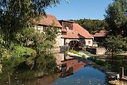 Mühle an der Ilm, Buchfart, Thüringen, Deutschland   mill, river Ilm, Buchfart, Thuringia, Germany