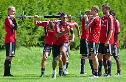 31.07.2010, Stadion, Kaprun, AUT, 1. FC Nürnberg Training, im Bild Rubin Okotie (1. FC Nürnberg, # 26), EXPA Pictures © 2010, PhotoCredit: EXPA/ J. Feichter / SPORTIDA PHOTO AGENCY