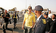 Enrique Iglesias at his arrival at laseria aiport.08 September 2010,.Lasaria Aiport, Johannesburg, South Africa,.Photo by :Abbey Sebetha/SPORTZPICS/CLT20
