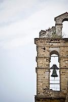 Dettaglio del campanile della Chiesa Gotica di San Paolo in largo San Paolo a Brindisi. 29/05/2010 PH Gabriele Spedicato