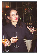 ISABEL GOLDSMITH, TATLER TRAVEL AWARDS, Ritz, 1998
