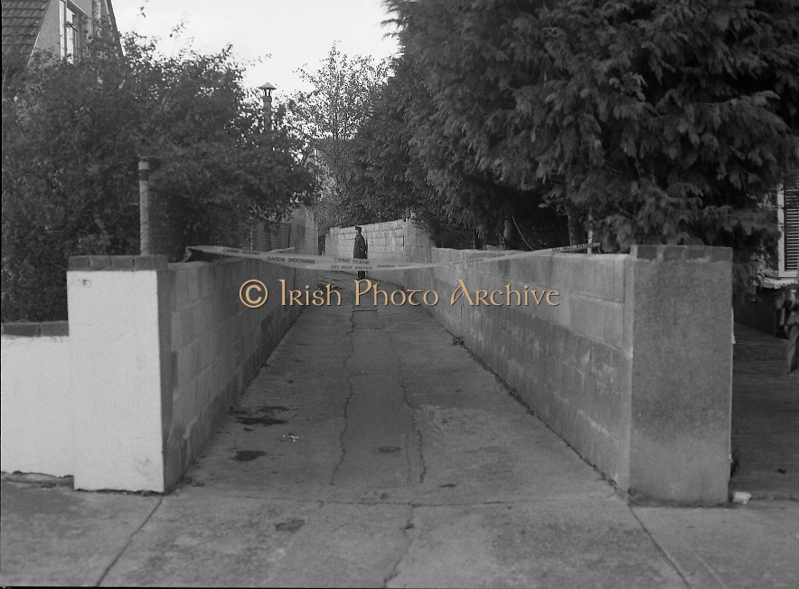 Philip Cairns Disappearance..1986..30.10.1986..10.30.1986..30th October 1986..On 23rd October 1986,schoolboy,Philip Cairns disappeared. He was returning to school after lunch but never arrived. A week later his schoolbag was found in an alleyway close to his home in Rathfarnham. It was suspected that his abductor left the bag in order to dispose of evidence and to confuse the Garda investigation. Rumour was rife that Philip had fallen into the clutches of a paedophile ring who may have killed him to cover their tracks..Up to 2012 the disappearance of philip Cairns still remains a mystery. today he would be aged about forty...Image of the alley, near Philip Cairns home,where his discarded schoolbag was found.