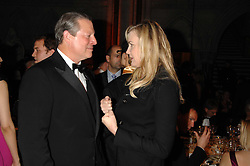 AL GORE and DARYL HANNAH at the 2nd Fortune Forum Summit and Gala Dinner held at the Royal Courts of Justice, The Strand, London on 30th November 2007.<br />