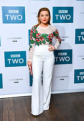 Florence Pugh attending the BBC screening of King Lear held at The Soho Hotel, London.