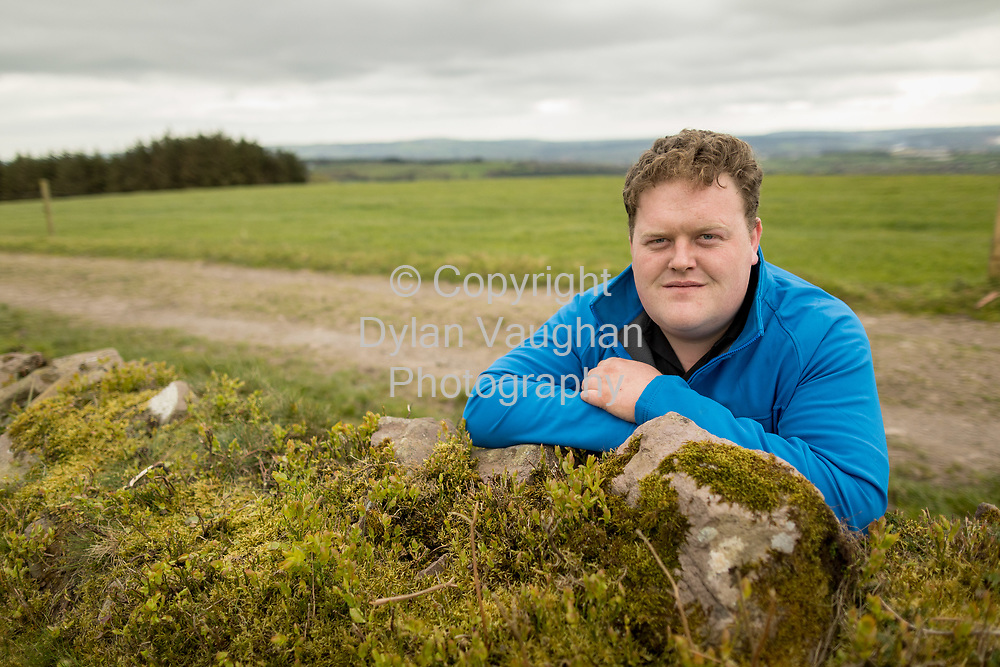 13-4-17<br /> <br /> Tom O&rsquo;Donoghue, Munster Macra, pictured on the farm near Cappaquin Co Waterford<br /> Picture Dylan Vaughan.