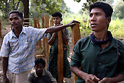Suspected Naxalites talk about the difficulites of life for local tribal people.