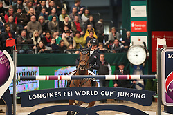 Tebbel Maurice, (GER), Chacco's Son<br /> Longines FEI World Cup<br /> CSIO Leipzig 2016<br /> © Hippo Foto - Stefan Lafrentz