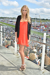 IANTHE ROSE COCHRANE-STACK at the Investec Derby 2015 at Epsom Racecourse, Epsom, Surrey on 6th June 2015.