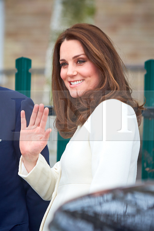 © Licensed to London News Pictures. 06/03/2018. Oxford, UK.  Kate, Duchess of Cambridge, visiting Pegasus Primary School in Blackbird Leys, Oxford.   Photo credit: Cliff Hide/LNP