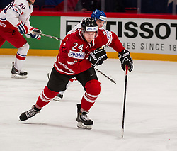12.05.2013, Globe Arena, Stockholm, SWE, IIHF, Eishockey WM, Kanada vs Tschechische Republik, im Bild Canada Kanada 24 Matt Read // during the IIHF Icehockey World Championship Game between Canada and Czech Republic at the Ericsson Globe, Stockholm, Sweden on 2013/05/12. EXPA Pictures © 2013, PhotoCredit: EXPA/ PicAgency Skycam/ Johan Andersson..***** ATTENTION - OUT OF SWE *****