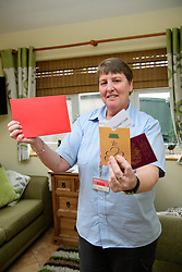 Royal Mail postwoman Heather Swales, from Mansfield, won top prize in the Courier&rsquo;s 12 Days of Christmas competition.  Heather used the &pound;1000 holiday voucher to book a holiday to Tenerife with her husband, Eric.<br /> <br /> Picture: Chris Vaughan Photography<br /> Date: January 5, 2018