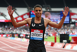 July 22, 2018 - London, United Kingdom - Matthew Centrowitz of USA winner after the 1500m Men.during the Muller Anniversary Games Day One at The London Stadium on July 22, 2018 in London, England. (Credit Image: © Action Foto Sport/NurPhoto via ZUMA Press)