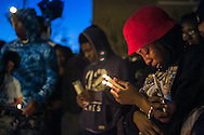 "January 28, 2016 - Over a hundred people gathered to remember Jonathan Bratcher during a candlelight vigil Thursday evening near St. Andrew A.M.E. Church in South Memphis. Bratcher was fatally shot by two Memphis police officers Wednesday near Kerr and S. Parkway E. One of Bratcher's closest friends, Frederick Robinson, 26, was one of the persons who organized the remembrance. ""He ain't here right now. I lost him,"" says Robinson. ""Right now, I'm really puzzled and just stuck - like in a shock. I love him dearly. I love him to death. Couldn't nothing break our bond - nothing. I miss him like he's been gone some years, well, it's been 24 hours."" (Yalonda M. James/The Commercial Appeal)"