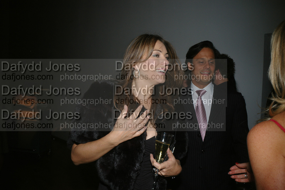 Elizabeth Hurley and Arun Nayar, ' Show Off' Theo Fennell exhibition co-hosted wit Vanity Fair. Royal Academy. Burlington Gdns. London. 27 September 2007. -DO NOT ARCHIVE-© Copyright Photograph by Dafydd Jones. 248 Clapham Rd. London SW9 0PZ. Tel 0207 820 0771. www.dafjones.com.