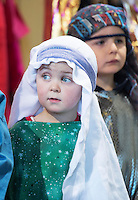 08/12/2014 Harry O'Neill (Green) from Fanore National school performing the Nativity at the Church in Fanore Co. Clare   Photo:Andrew Downes