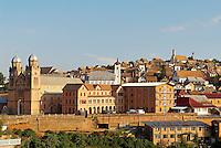 Madagascar. Fianarantsoa. La vieille ville haute. // Madagascar. Fianarantsoa. The high old city.