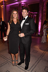 James & Katherine Fowler at The Sugarplum Dinner 2017 to benefit the type 1 diabetes charity JDRF held at the Victoria & Albert Museum, Cromwell Road, London England. 14 November 2017.