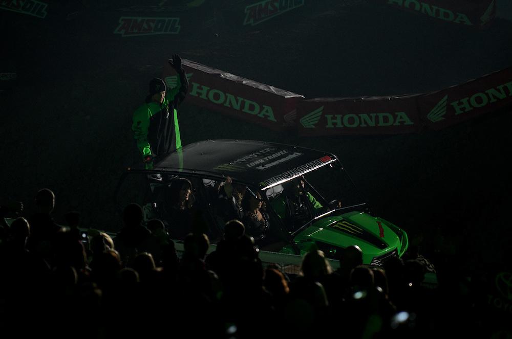 2012 AMA Supercross.Angel Stadium.Anaheim, California.January 7, 2012