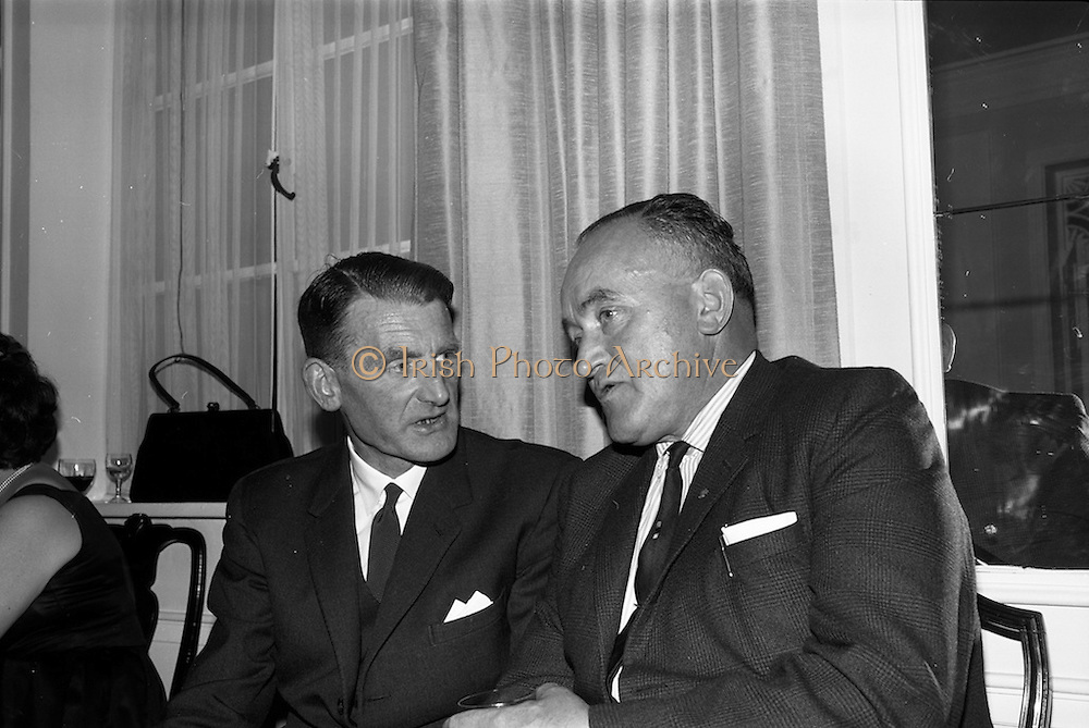 30/6/1964<br /> 6/30/1964<br /> 30 June 1964<br /> <br /> Mr. Michael Delany Managing Director at Slainte Mineral Water, and Mr. Paul O'Dea Managing Director Connacht Mineral Water at the Pepsi reception