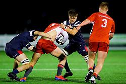 Jamie Collier of Bristol Bears U18 - Rogan/JMP - 19/12/2019 - RUGBY UNION - Newlands Park - Cheltenham, England - Gloucester Rugby U18 v Bristol Bears U18 - Premiership Rugby U18 Academy League.