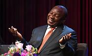 Desmond Tutu Annual Peace Lecture - 8 Oct 2018