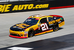 April 13, 2018 - Bristol, TN, U.S. - BRISTOL, TN - APRIL 13:#21: Daniel Hemric, Richard Childress Racing, Chevrolet Camaro South Point Hotel & Casino  during practice for the 36th annual Fitzgerald Glider Kits 300 on Friday April 13, 2018 at Bristol Motor Speedway in Bristol Tennessee (Photo by Jeff Robinson/Icon Sportswire) (Credit Image: © Jeff Robinson/Icon SMI via ZUMA Press)