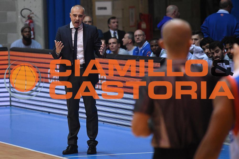 Marco Sodini<br /> Red October Cantu - Umana Reyer Venezia<br /> LegaBasket Serie A 2017/2018<br /> Desio, 11/11/2017<br /> Foto M.Ceretti / Ciamillo-Castoria