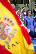 080614 Spanish Royals Attend the Armed Forces Day Event