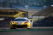 June 13-18, 2017. 24 hours of Le Mans. 84 JMW Motorsport, Ferrari 488 GTE, Robert Smith, Will Stevens, Dries Vanthoor