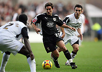 Photo: Rich Eaton.<br /> <br /> Swansea City v Bristol City. Coca Cola League 1. 26/11/2006. Lee Johnson #33 of Bristol attacks