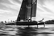 The SailGP is 'sailing redefined'. Competing in state of the art foiling F50 catamarans, the first event is held on Sydney Harbour on February 15 and 16, 2019.<br /> <br /> ©DREW MALCOLM. 6th February 2019.
