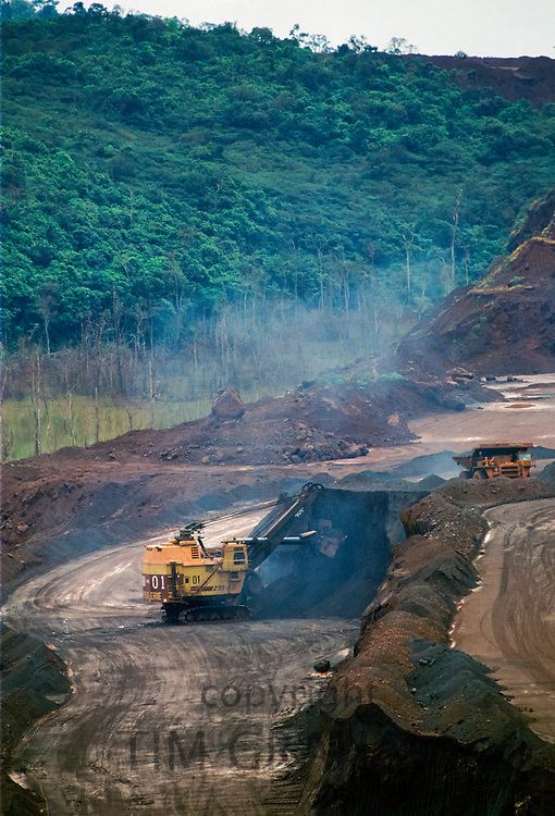 Carajas Open Cast Mine in Brazil
