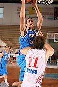 DESCRIZIONE : Porto San Giorgio 3° Torneo Internazionale dell'Adriatico Italia-Croazia<br /> GIOCATORE : Luigi Datome<br /> SQUADRA : Nazionale Italiana Uomini Italia<br /> EVENTO : Porto San Giorgio 3° Torneo Internazionale dell'Adriatico<br /> GARA : Italia Croazia<br /> DATA : 06/06/2007 <br /> CATEGORIA : Tiro<br /> SPORT : Pallacanestro <br /> AUTORE : Agenzia Ciamillo-Castoria/E.Castoria