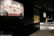 Oeuvres de Marie Brunet dans le foyer de la salle de spectacle Dolbeau-Mistassini - Novembre 2008 - Architectes: Paul Laurendeau / Jodoin Lamarre Pratte / Architects en consortium..Photographies © Marc Gibert / www.adecom.ca