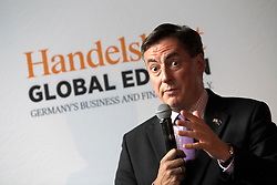 UK ENGLAND LONDON 21JUN16 - David McAllister MEP speaks during a podium discussion hosted by the Handelsblatt editorial office in Hoxton, London.<br /> <br /> jre/Photo by Jiri Rezac<br /> <br /> © Jiri Rezac 2016