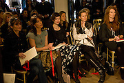 FRONT ROW INC: SHEHERAZADE GOLDSMITH;  SAMANTHA CAMERON; JASMINE GUINNESS;. The Launch of the Lanvin store on Mount St. Presentation and cocktails.  London. 26 March 2009
