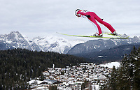 Kombinert, ,16.JAN.14 - SKI NORDISCH, NORDISCHE KOMBINATION, SKISPRINGEN- FIS Weltcup Nordic Triple, Training. Bild zeigt Magnus Krog (NOR).<br /> <br /> Norway only