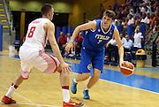 LIGNANO SABBIADORO, 07 LUGLIO 2015<br /> BASKET, EUROPEO MASCHILE UNDER 20<br /> ITALIA-CROAZIA<br /> NELLA FOTO: Ion Lupsor<br /> FOTO FIBA EUROPE/CASTORIA