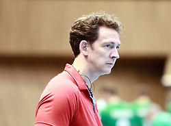 June 16, 2018 - Varna, Bulgaria - coach Stephane ANTIGA (Canada), .mens Volleyball Nations League,week 4, Bulgaria vs Canada, Palace of culture and sport, Varna/Bulgaria, June 16, 2018, the fourth of 5 weekends of the preliminary lap in the new established mens Volleyball Nationas League takes place in Varna/Bulgaria. (Credit Image: © Wolfgang Fehrmann via ZUMA Wire)
