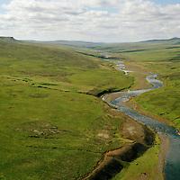 Breiðamýri, Selárdalur séð til suðvesturs, Vopnafjarðarhreppur / Breidamyri viewing southwest, Vopnafjardarhreppur.