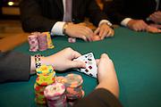 Poker Table.Las Vegas Casino.Las Vegas, Nevada