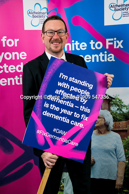 """Andrew Gwynne MP;<br /> Alzheimer's Society;<br /> """"Fix Dementia Care & State of the Nation""""<br /> Parliamentary report Launch;<br /> Houses of Parliament, Westminster.<br /> 23rd May 2018.<br /> <br /> © Pete Jones<br /> pete@pjproductions.co.uk"""