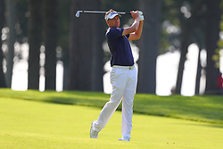 August 25, 2018 - Paramus, NJ, U.S. - PARAMUS, NJ - AUGUST 25:   Ian Poulter of England during the third round of The Northern Trust on August 25, 2018 at the Ridgewood Championship Course in Ridgewood, New Jersey.   (Photo by Rich Graessle/Icon Sportswire) (Credit Image: © Rich Graessle/Icon SMI via ZUMA Press)