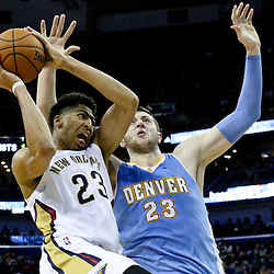 01-28-2015 Denver Nuggets at New Orleans Pelicans
