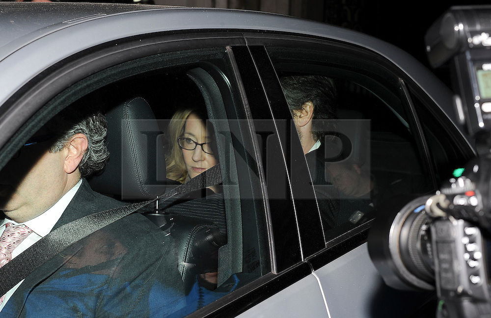 """© London News Pictures. 24/11/2011. London, UK.  Author Joanne """"Jo"""" Rowling, OBE AKA J.K Rowling leaving The Royal Courts of Justice today (24/11/2011) after giving evidence at the Leveson Inquiry into press standards. The inquiry is being lead by Lord Justice Leveson and is looking into the culture, and practice of the UK press. Photo credit : Ben Cawthra/LNP"""